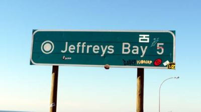 Beach Music, Jeffreys Bay, Jbay sign