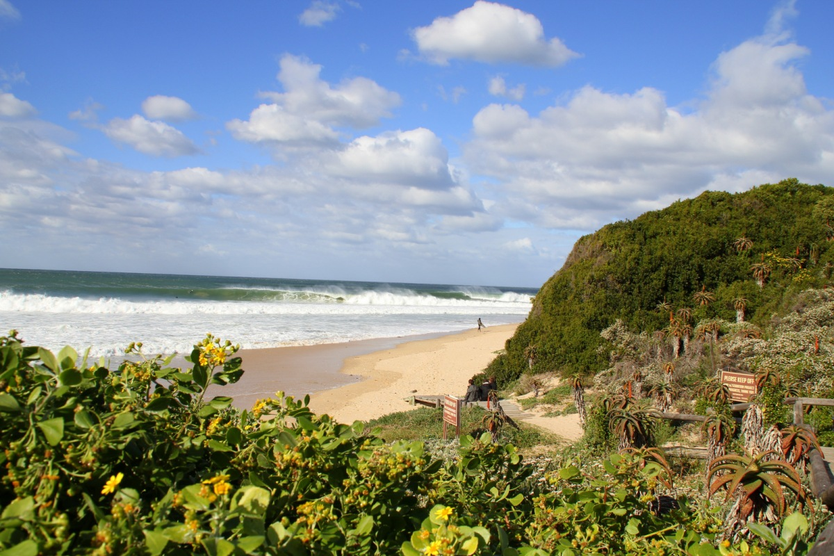 Beach Music, Jeffreys Bay, South Africa, Sunny winter day